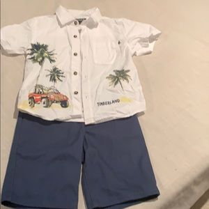Timberland shirt set